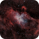 The Eagle Nebula (M 16) in HOO,                                Marcel Nowaczyk