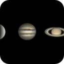 Venus, Jupiter and Saturn (18 june 2015),                                Star Hunter