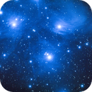 M45 The Pleiades,The Seven Sisters,                                Tam Rich