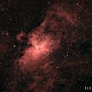 M16 Nebulosa del Águila,                                Alex Cortés Martinez