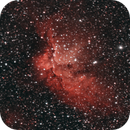NGC 7380. The Wizard nebula,                                Enol Matilla