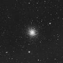 Luminance Capture of The Great Cluster in Hercules (Messier 13),                                Norman Tajudin