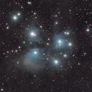 M45 - The Pleiades - in December 2019,                                Rudolf Bumm