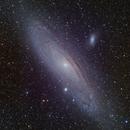 M31 Andromeda Galaxy in LRGB - HDRC Study,                                Ben Koltenbah