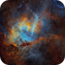Lion Nebula SH2-132  - revisited,                                Arnaud Peel