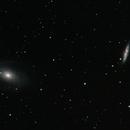 M81 and M82 detail,                                Salvatore Iovene