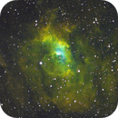 NGC 7635,                                Steve Yan
