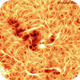 The beauty of magnetic field lines, around a big spot, on Chromosphere.,                                Gabriel - Uranus7