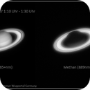 Saturn in different wavelengths,                                Thomas Klemmer