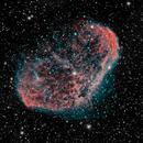 Crescent nebula,                                Grizzlyastro