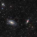 Messier 81 & 82 - Widefield,                                Steve Milne