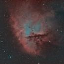 Pac Man Nebula,                                Eric Walden