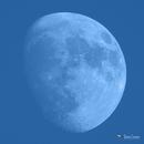 Daytime Waxing Gibbous Moon,                                Damien Cannane