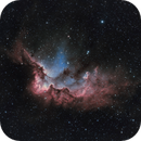 The Wizard Nebula (NGC 7380) in SHO,                                Chuck's Astrophot...