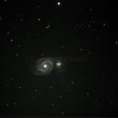 M51 Whilrpool Galaxy,                                Daniel T. Monaghan