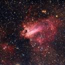 Messier 17 ZWO ASI 071 Pro,                                Ben S Klerk