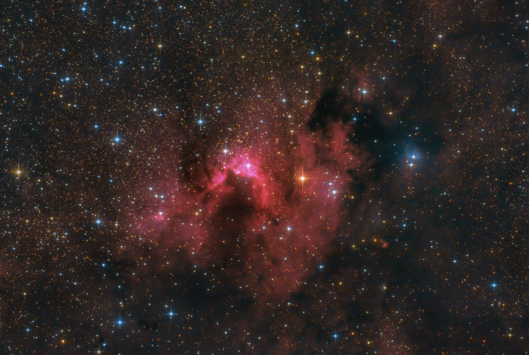 SH2-155 - Cave Nebula,                                Robert Eder