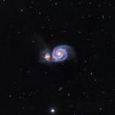 Whirlpool Galaxy - M51,                                XTATDSM