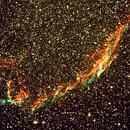 NGC 6992 - Nébuleuse du Voile,                                Jean-Pierre BONNEFOY