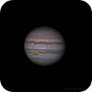 Jupiter, showing the GRS,                                Daniel Leclerc