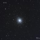 Messier 92,                                Jeff Padell