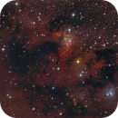 """Cave Nebula"" with modified Newtonian reflector,                                Michael S."