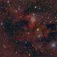 """Cave Nebula"" with modified Newtonian reflector,                                Michael S."