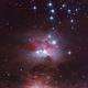 The Running Man Nebula,                                Omar Martinez