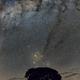 Milky Way and the Earth (Fixed Tripod),                                Carlos 'Kiko' Fai...