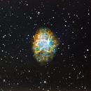 Crab Nebula,                                Steve Bacon