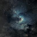 Sh2-155 - Caldwell 9 - the Cave Nebula,                                Vergnes Christophe