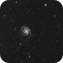 M101 the Pinwheel galaxy,                                Ivan Bosnar