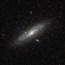 M31 - Andromeda Galaxy - wide field,                                Dale Hollenbaugh