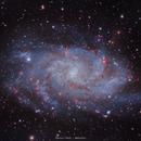 M33 / Triangulum Galaxy,                                Maroun Habib