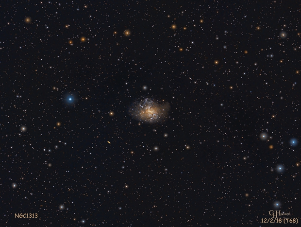 NGC1313,                                Gordon Hansen