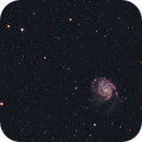 Plate-Solving is Awesome: M101 captured using APT,                                Kurt Zeppetello