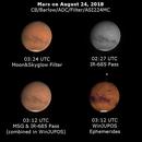 Mars on August 24, 2018,                                JDJ