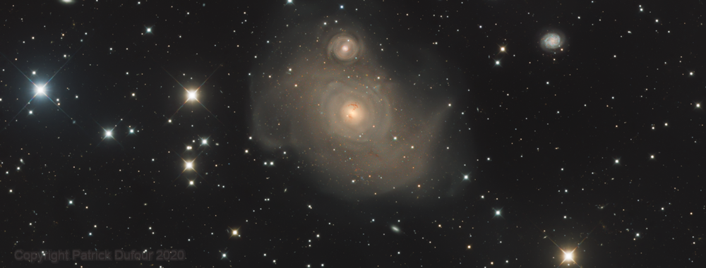 NGC 1316 Fornax A & friends,                                Patrick Dufour