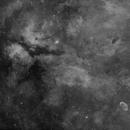 Sadr/NGC6888 Area H-alpha Mosaic (Full),                                mikefulb