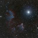 Navi, Gamma Cas, RGB + H-alpha,                                Aurelio55
