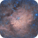 NGC6820 HOO  from 2018,                                Carastro