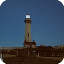 Saturn-Jupiter conjunction at Pigeon Point lighthouse,                                pfile