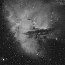 NGC 281 (PacMan Nebula) en Ha,                                Pascal83