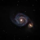 Whirpool Galaxy,                                Moreno Sotgiu