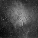 NGC6820 H-Alpha,                                Sergio Alessandrelli