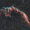 La Grande Dentelle du Cygne NGC6992 Veil Nebula,                                Victor