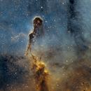 IC 1396 Elephant's Trunk Nebula in SHO palette,                                Denis Salnikov