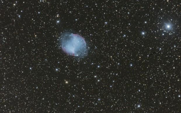 Dumbbell Nebula,                                Wirrkopf