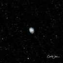 M1 Crab Nebula,                                Carl Weber