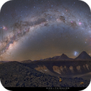 Galactic Arc in the southern perspective,                                Kiko Fairbairn